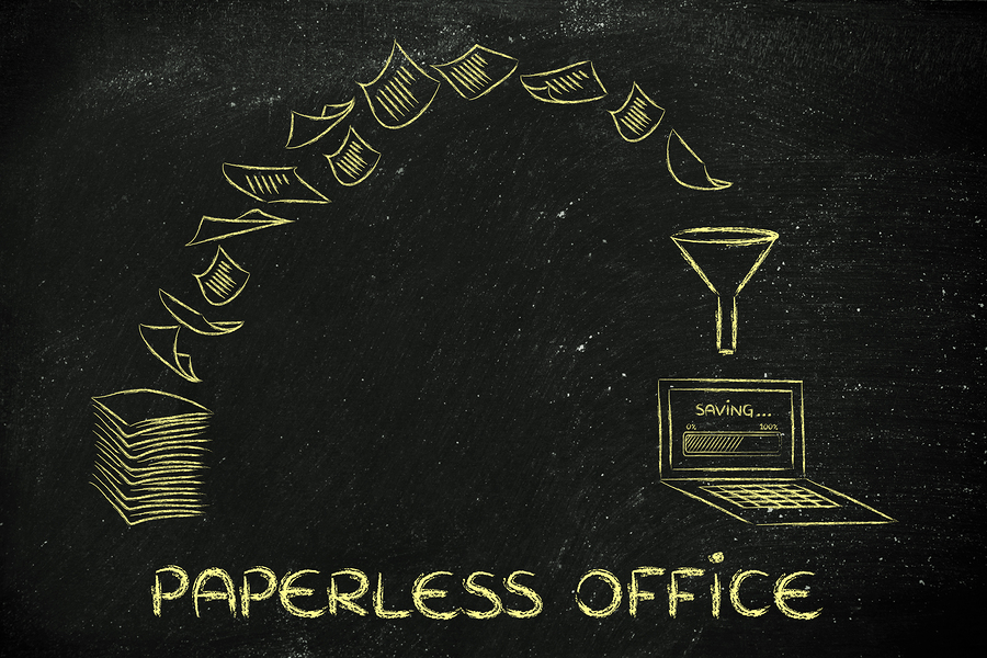 creating paperless office scanning