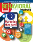 ClinicTracker, Behavioral Healthcare Magazine Cover